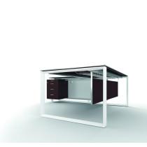 X7 Schreibtisch - Gestell geschlossen