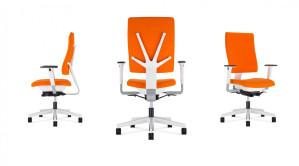 "Ergonomischer Bürodrehstuhl ""4ME"" S-Move  White"