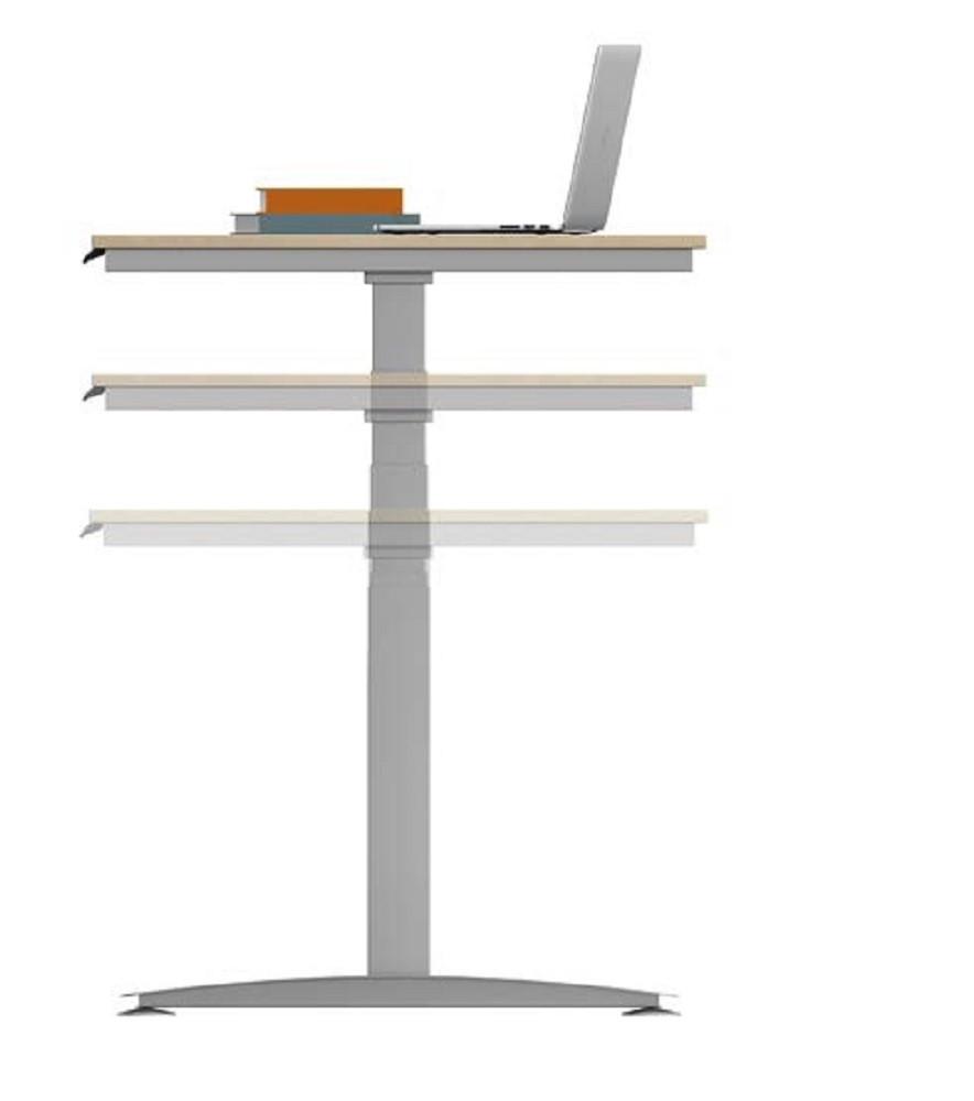 ALMA-H Schreibtisch elektrisch Höhenverstellbar 650-1290 mm