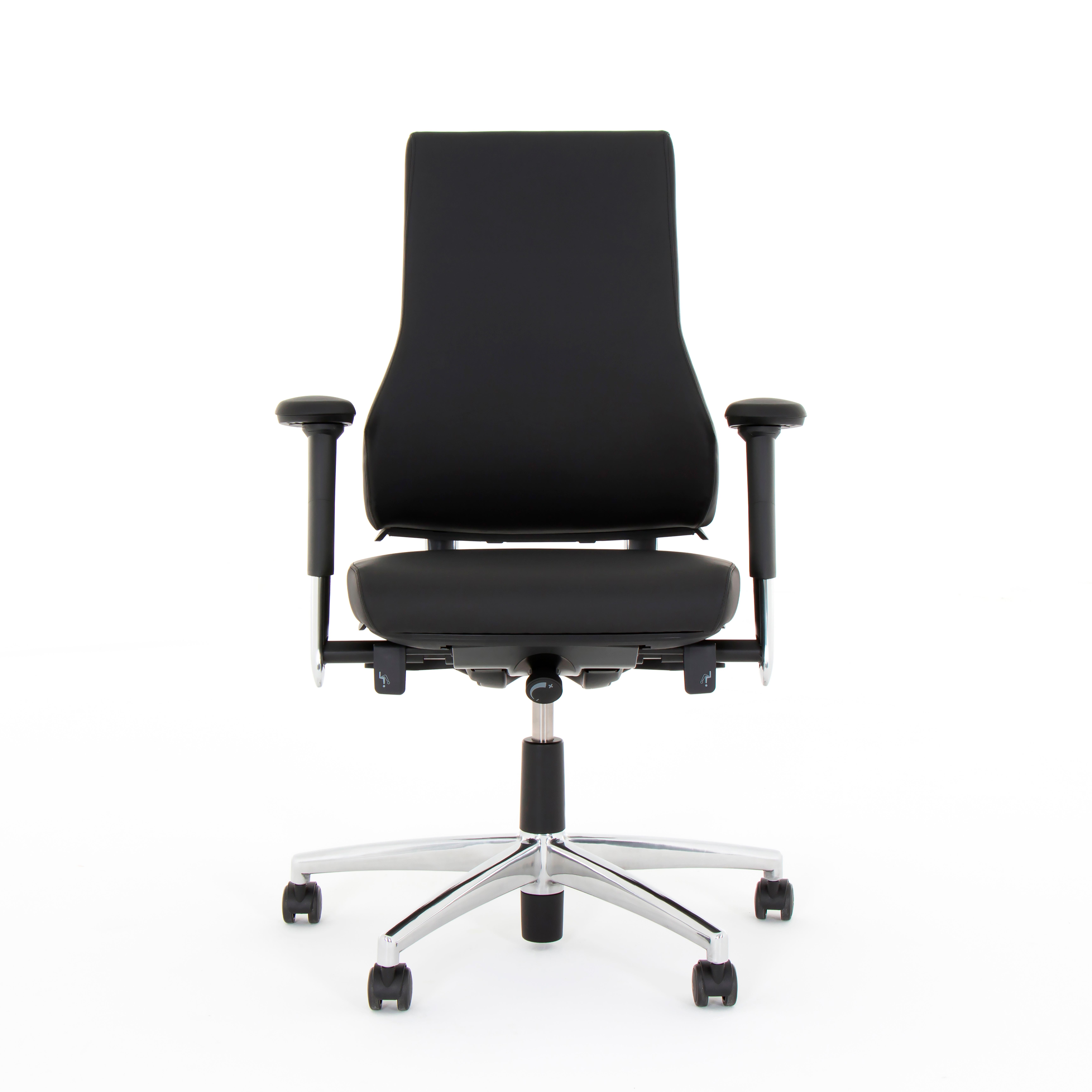 Bürodrehstuhl - AXIA 2.4 schwarz - extra hoher Rücken