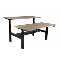 Elektrisch-Höhenverstellbare Tischanlage AZ-Twin für 2 Arbeitsplätze, HV: 650-1300 mm