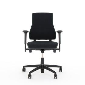 Bürodrehstuhl - AXIA 2.2 schwarz - hoher Rücken